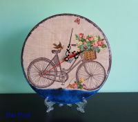 """Декупаж - Точно време """"Веселото колело"""""""