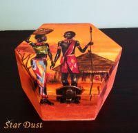 """Кутия за бижута """" Африка"""""""